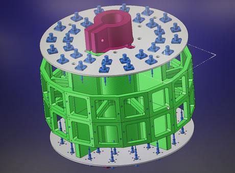3次元CAD 2台/2次元CAD 3台/ワイヤー用CAM 2台